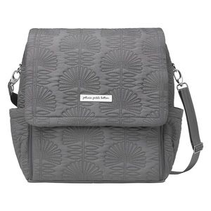 Petunia pickle bottom diaper baby bag gray tote